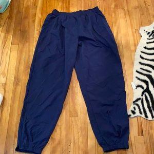 Vintage men's Nike windbreaker pants size XXL